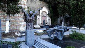Уголок Пантеона на Мтацминде
