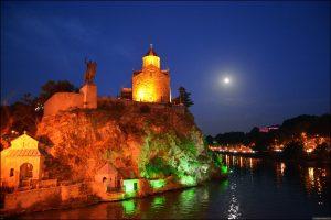 Краски ночного Тбилиси…