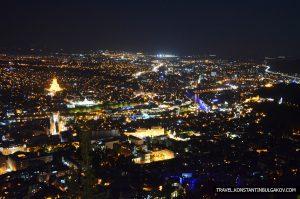 «На этот город звёзды засмотрелись…»