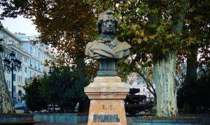 Пушкин в Тбилиси