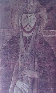 Александр Невский — портрет с покрова