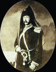 А.К. Толстой в мундире офицера Стрелкового полка