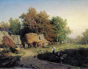 Ф.А. Васильев. Деревня