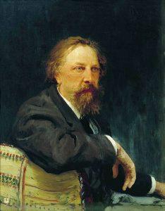 И.Е. Репин. Портрет графа А.К. Толстого