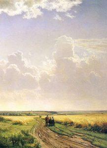 И. Шишкин. Полдень в окрестностях Москвы, 1869