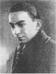 Нечеткое фото Лотфи Заде, около 1937 г.