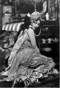 Ида Рубинштейн в роли Зобеиды в балете «Шехеразада»