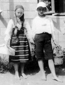 Фото Т.Корш и А.Шебалиной из кн. Ю.Бычкова
