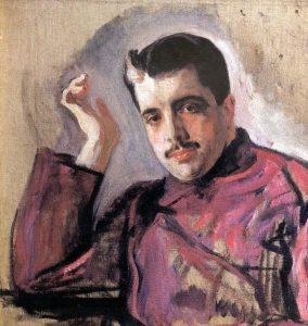 В. Серов. Портрет С. Дягилева. 1904 г.