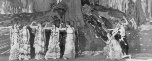 Театр Шатле. Премьера балета «Послеполуденный отдых фавна» 1912 г.