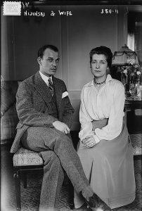 В. Нижинский и Ромола де Пульски