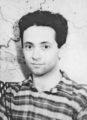 Юлий Брук в общежитии МФТИ, 1961год