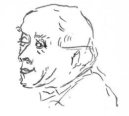 эскизный портрет Руо