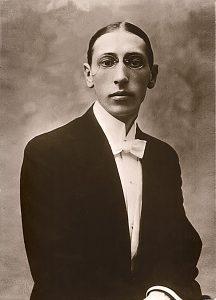 Игорь Стравинский 1910г.
