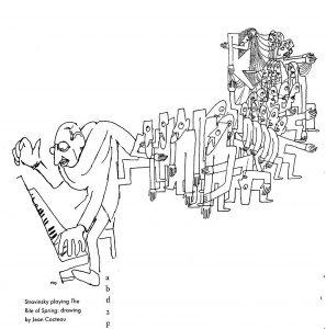 Жан Кокто. Стравинский, играющий «Весну священную»