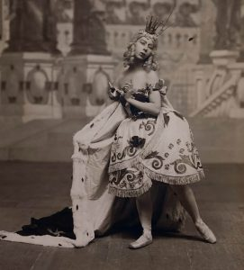 Бронислава Нижинская в роли феи в балете «Спящая красавица» 1925г.