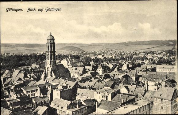 10. Гёттинген, Нижняя Саксония, начало 1900-х годов. Старинная открытка