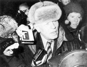 Возвращение из ссылки, Москва, Ярославский вокзал, 26 декабря 1986г.