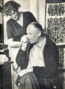 А.Д.Сахаров и Е.Г.Боннэр, сентябрь 1973г.