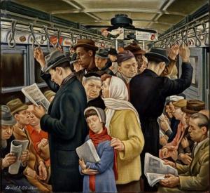 Рис.10. Д. Селентано. Метро, 1935