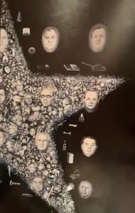 Рис.24. Умирающая звезда, 1989 (фрагмент)