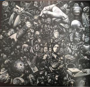 Рис.31. Narrative of environment (Язык природы), 1992