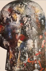 Рис.32. На поверхности сознания (фрагмент скульптуры), 1990
