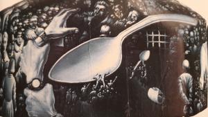 Рис.33. Плачущая голова (фрагмент скульптуры), 1991