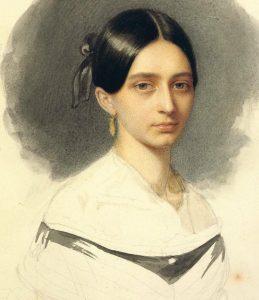 Клара Вик в 1840 году, незадолго до замужества