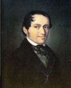 Фридрих Вик в 1828 году