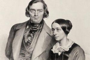 Роберт и Клара Шуманы в 1847 году