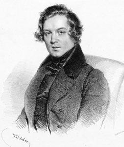 Роберт Шуман в 29 лет, 1839 год